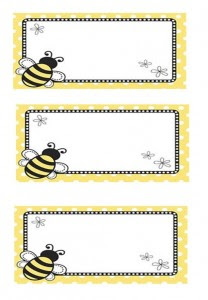 bee name tag 3 208x300