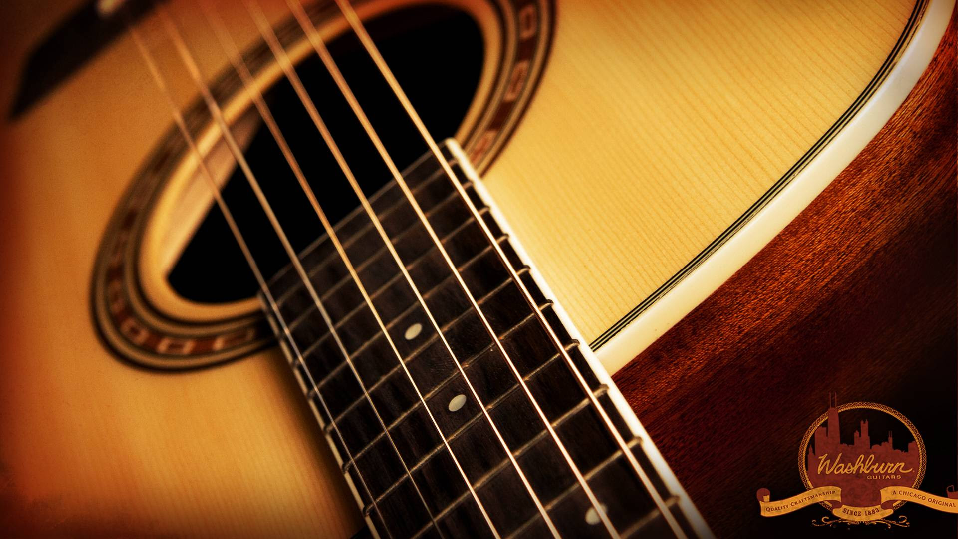 Beautiful Guitar Wallpaper Hd