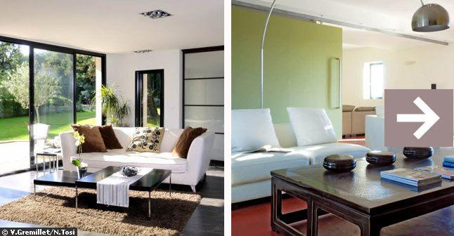 exemple decoration salon moderne couleur