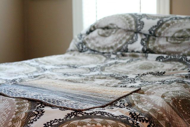 Kaesea's quilt, in situ
