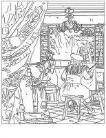 Disegni Da Colorare Di Quadri Famosi Leonardo Da Vinci Picasso