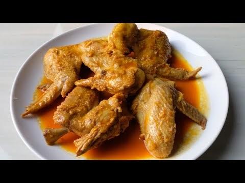 Resep Masakan Gulai Sayap Ayam