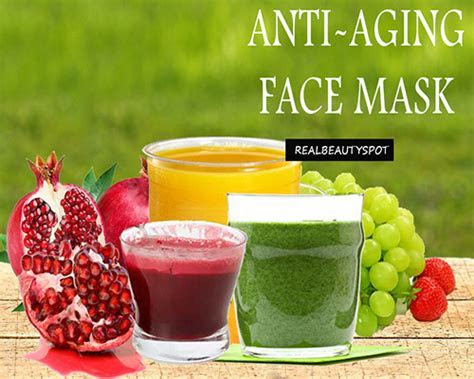 DIY natural anti aging face mask for wrinkle free skin