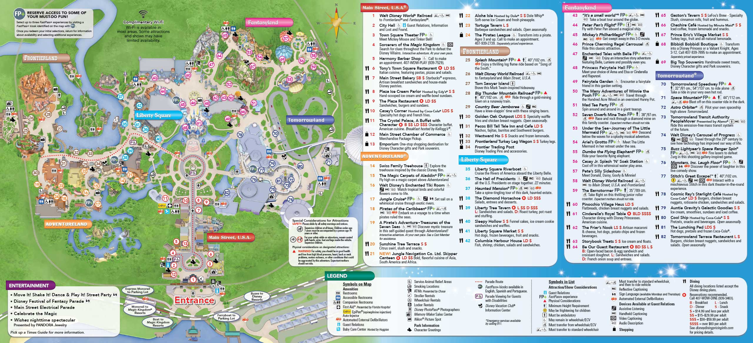 Printable Map Of Disney World Printable Map Of Disney World