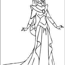 Dibujos Princesa Jasmin Para Colorear 12 Imagenes De Princesas