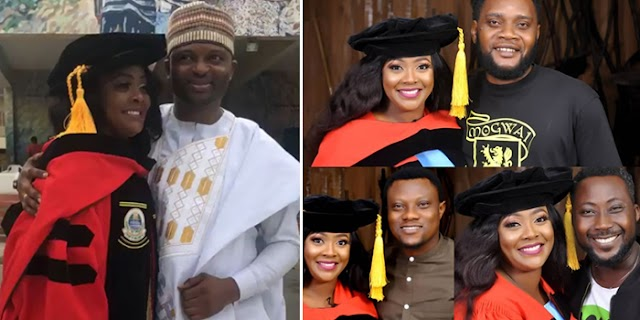 Helen Paul Appreciates Husband, Shares More Fun Photos From Her Convocation