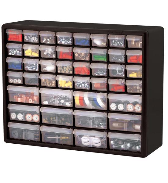 44 Drawer Storage Chest in Small Parts Storage