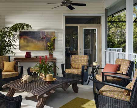 Furniture Placement Ideas | Front Porch Decorating