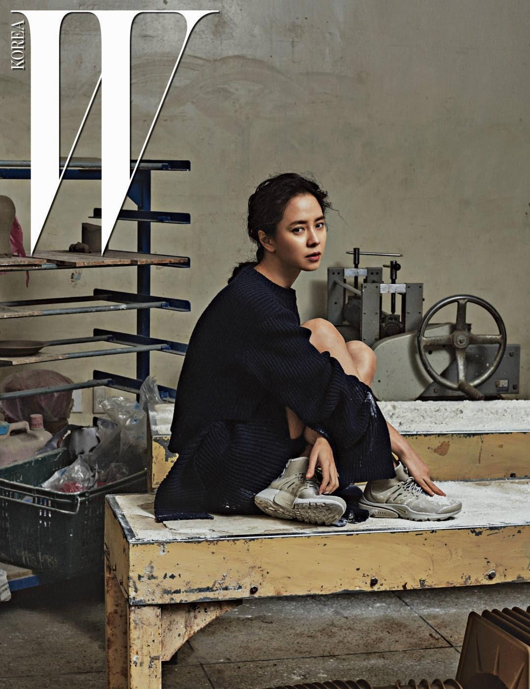 Song Ji Hyo - W Magazine January Issue '17