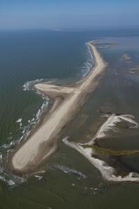 berm building Gulf Coast, Louisiana