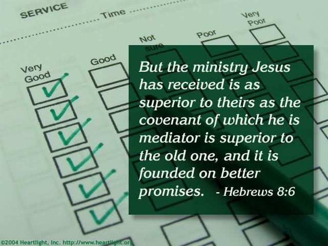 Inspirational illustration of Hebrews 8:6