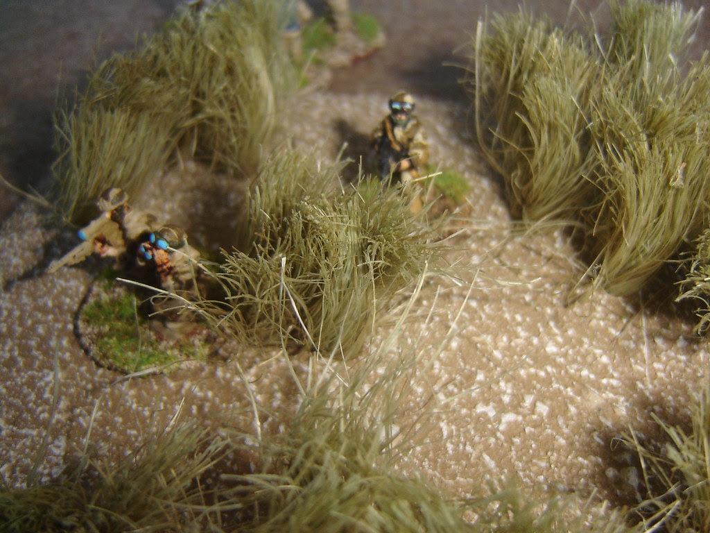 Sniper team starts to pick targets