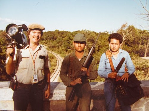 David R.Busse in El Salvador