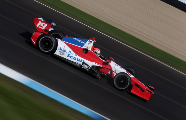 Justin Wilson - Grand Prix of Indianapolis