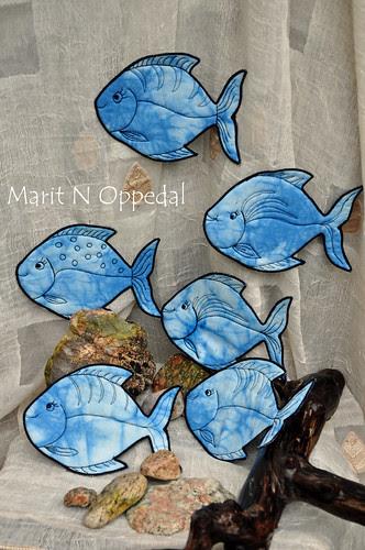 Fisker by Marits Kunstquilt