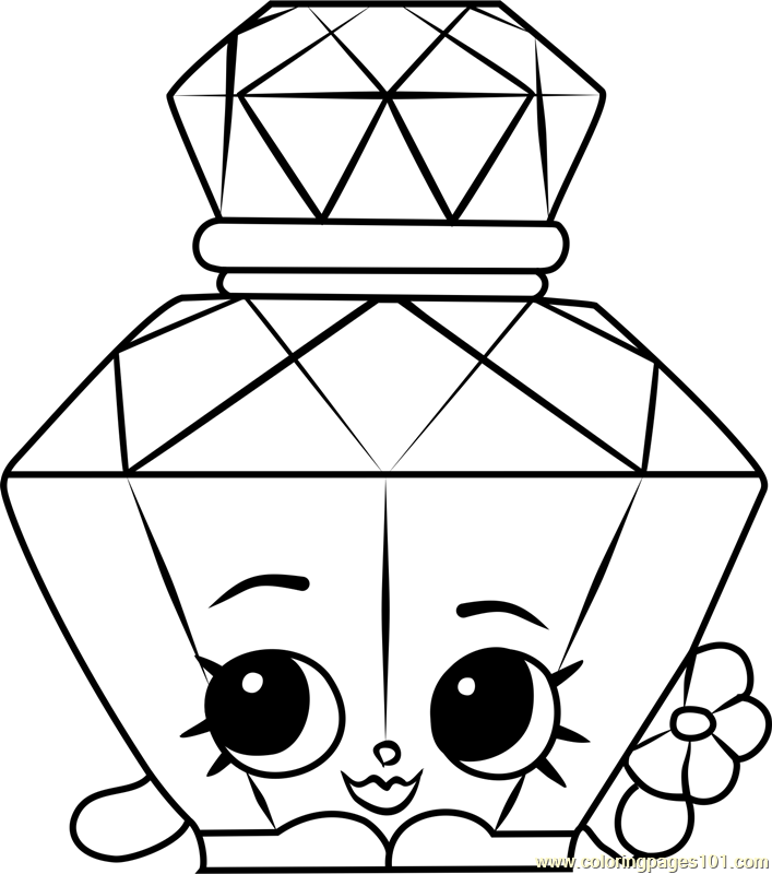 30 Christmas Shopkins Coloring Pages - Free Printable Coloring Pages
