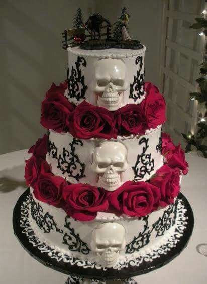 Best 25  Skull wedding cakes ideas on Pinterest