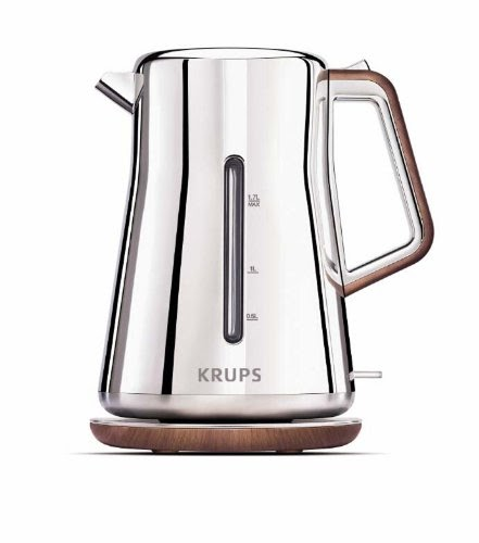 Krups BW600 Silver Art Collection 2-Quart Electric Kettle