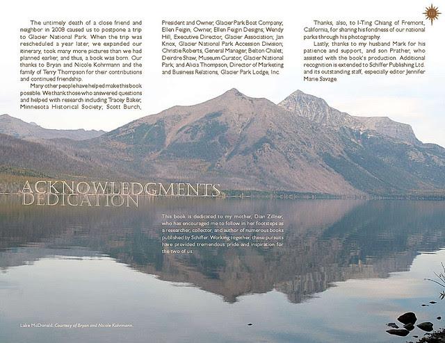 Glacier National Park Book Sample2