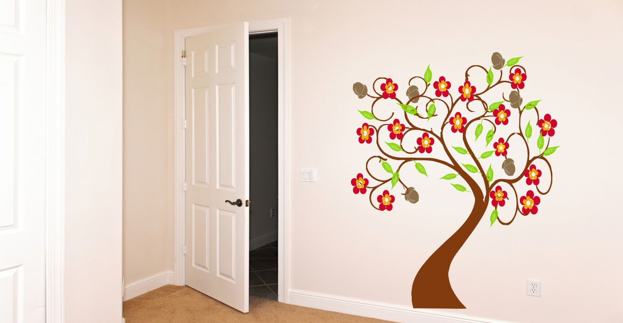 A Beautiful Tree made with vinyl for any room