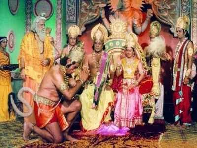 Old is gold-Ramayan' Re-run Creates World Record On TV Program