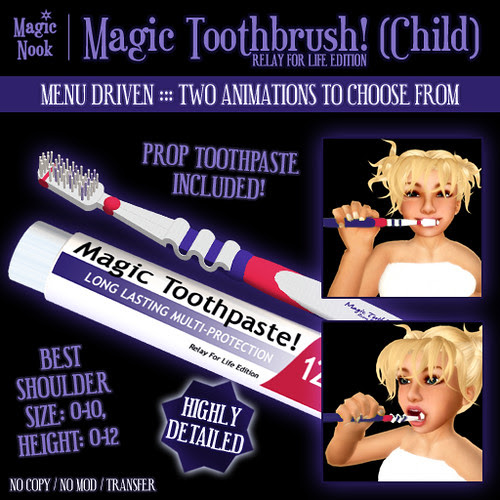 * Magic Nook * Magic Toothbrush (Child) (RFL Edition)