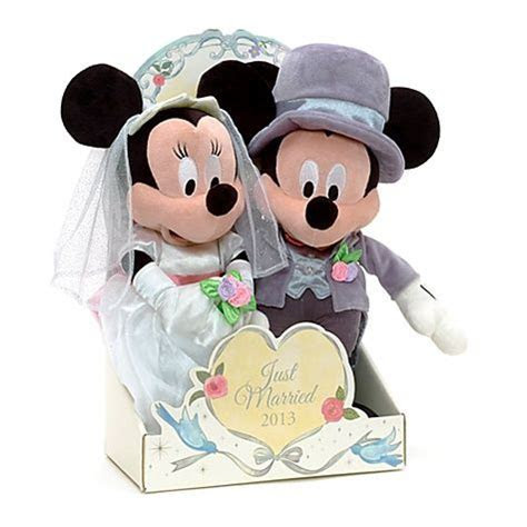 Mickey and Minnie Mouse Wedding Bears   Khaylea's wedding