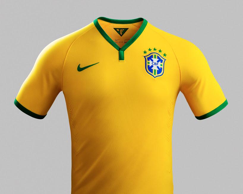 pretty nice 18bb0 8d617 FIFA WORLD CUP 2018: BRAZIL FOOTBALL KIT 2013