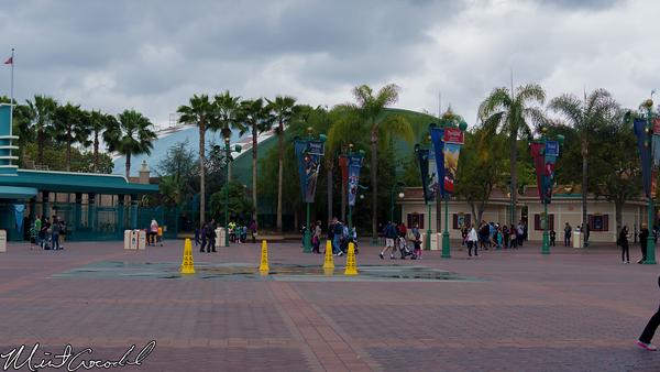 Disneyland Resort, Disneyland, Disney California Adventure, Main Entry Plaza, Soarin', Green, Grizzly, Peak, Airfield
