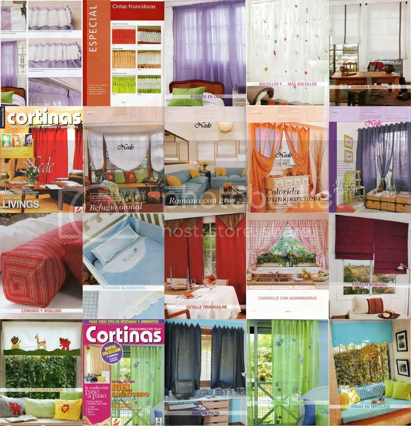 curso de cortinas revistas de cortinas manuales cortinas