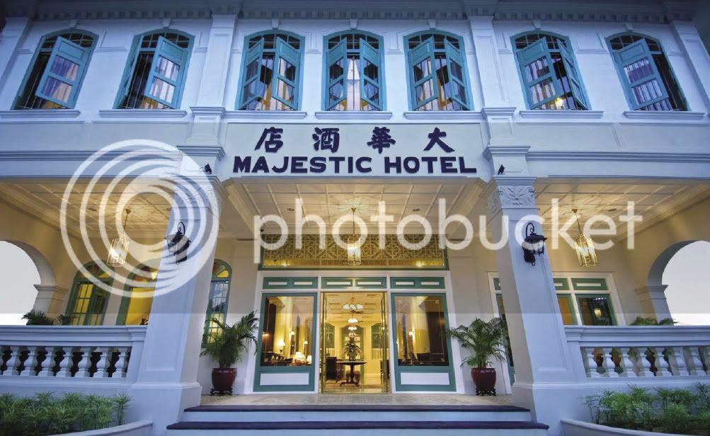 Spa village malacca- the majestic malacca, facade 2