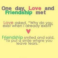 Love Turns Friendship Quotes Quotations Sayings 2019
