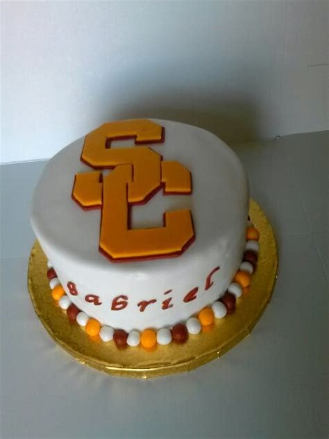 USC Trojans Cake   USC   Pinterest   Usc trojans