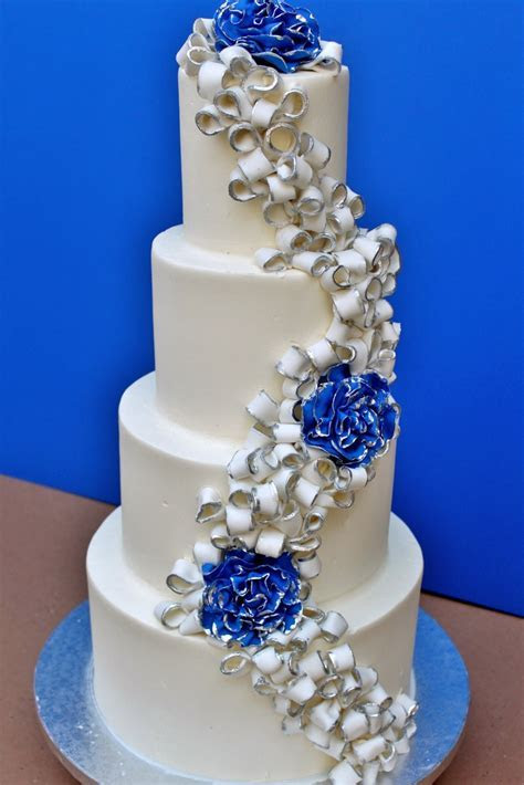 royal blue   Wedding Cakes   Pinterest   Royal blue, Blue