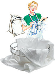Absorbent Floursack Towels, a Cost-Saving Secret of Frugal Vermonters