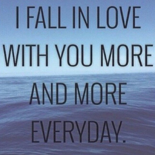 I Fall In Love With You More Each Day Pictures Photos And Images