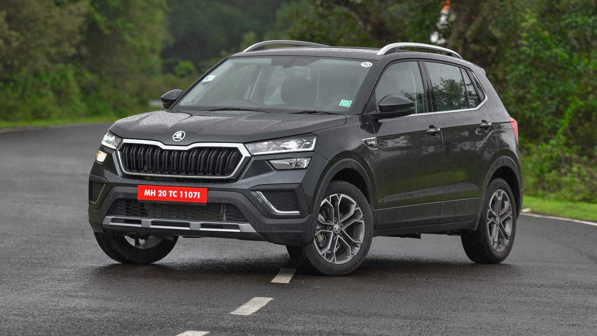 The Skoda Kushaq Style automatic's price will witness a notable hike with the addition of more airbags. Image: Overdrive/Anis Shaikh