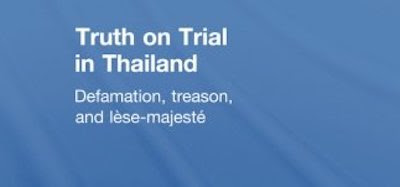 Truth On Trial In Thailand
