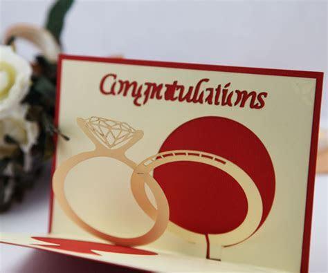 Wedding ring marry Greeting card edge line diy handmade