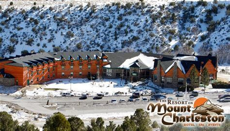 Join the Happy Hour at The Resort on Mount Charleston in