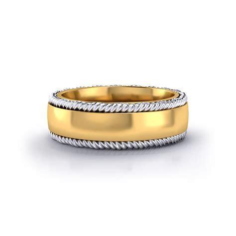 Twisted Border Wedding Ring   Jewelry Designs