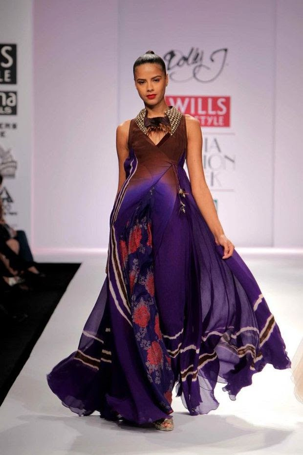 Dolly J at the Wills Lifestyle India Fashion Week - Fall / Winter 2012