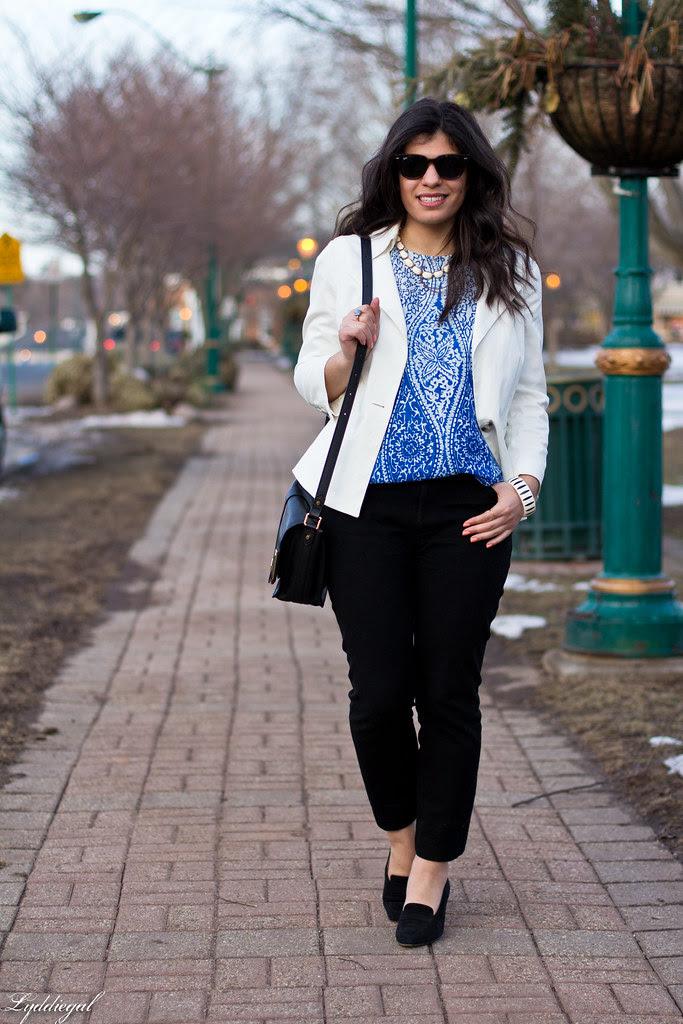 printed blouse, white blazer.jpg