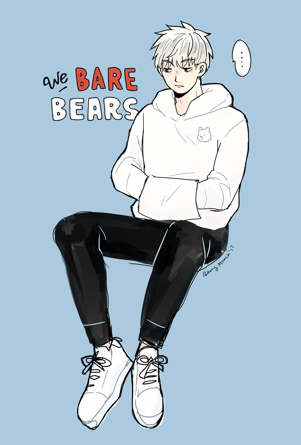 ice bear can cook and clean