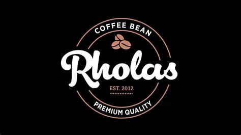 contoh desain logo kopi saveas brand blog artikel