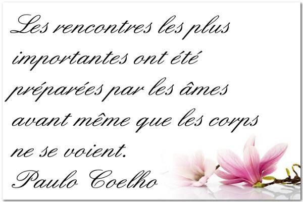 Citation Belle Rencontre Citation Damour