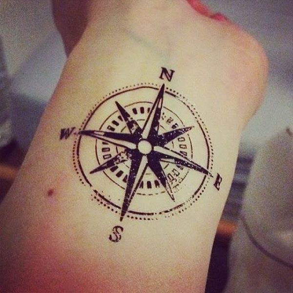 Compass Tattoos For Men Archives For Creative Juice