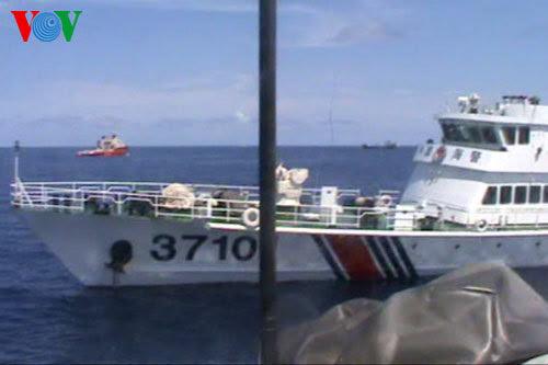 giàn khoan, Hải Dương 981, TQ, kiểm ngư, chủ quyền