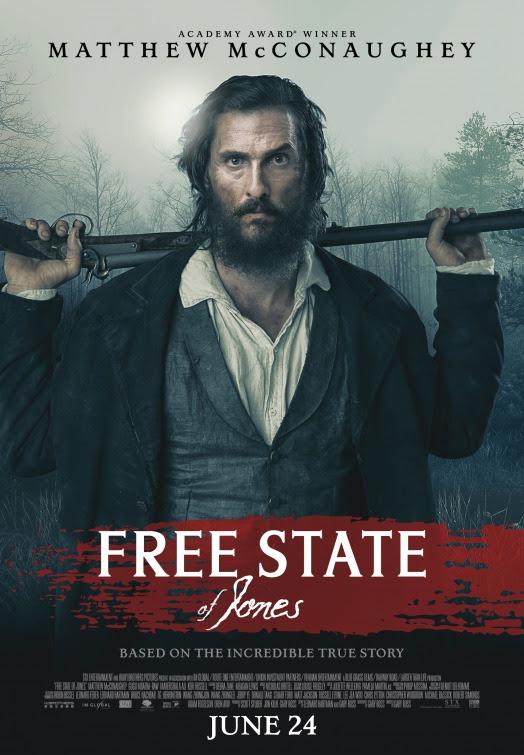 Resultado de imagem para movie poster free state of jones