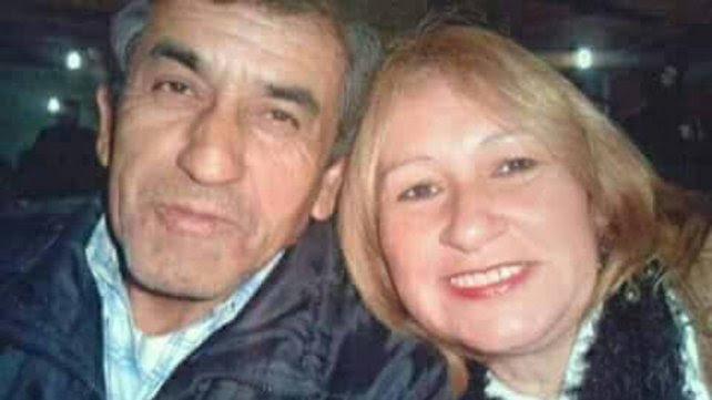 Jorge Díaz e Inés Amalia Dri cuando convivían. (Foto diario Uno de Entre Ríos)